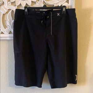 Men's Hurley Black Phantom Board Shorts